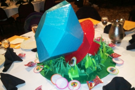 Giant Candy Ring Centerpiece
